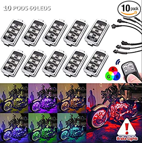 10 PODS Motorcycle LED Accent Underglow Neon Light - Multi-Colorful Kawasaki Motorcycle X R Wiring Diagram on kawasaki 2003 636 wiring-diagram, kawasaki motorcycle drawings, kawasaki bayou 300 wiring diagram, kawasaki motorcycle parts, kawasaki motorcycle seats, kawasaki vulcan 800 wiring diagram, kawasaki bayou 220 wiring diagram, kawasaki mule wiring-diagram, kawasaki 4 wheeler wiring diagram, kawasaki ignition system wiring diagram, kawasaki 750 wiring diagram, bird migration diagrams, kawasaki kz1000 wiring-diagram, kawasaki engine parts diagrams, kawasaki cruiser motorcycles, kawasaki motorcycle battery, kawasaki electrical diagrams, kawasaki motorcycle brochures, kawasaki motorcycle engine diagrams,