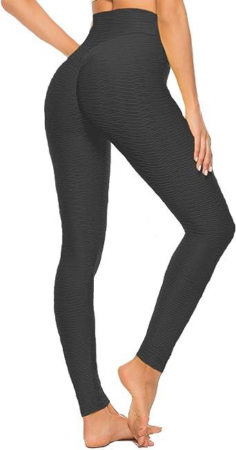 Amazon.com: Fittoo - Leggings de cintura alta para mujer ...