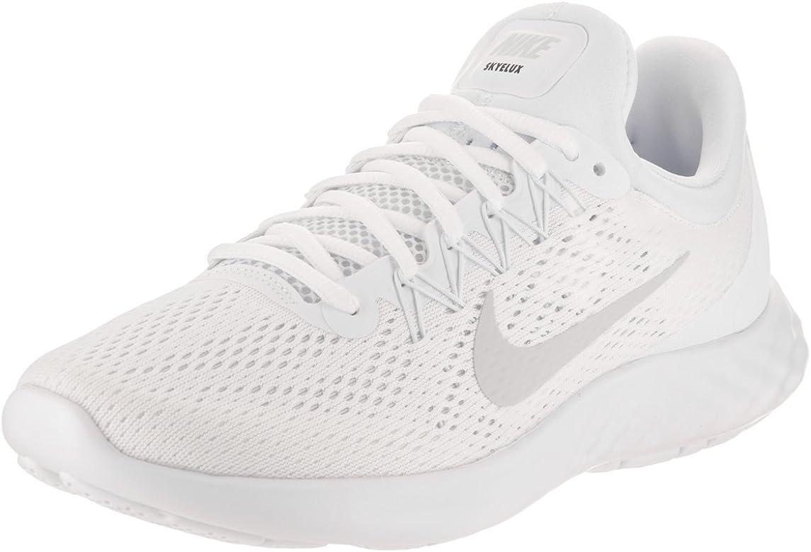 Nike - Performancelunar Skyelux - Zapatillas Neutras - White/Pure Platinum/offwhite: Amazon.es: Zapatos y complementos