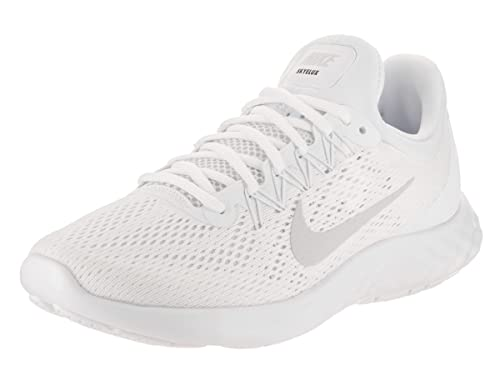 639dbd528725 Nike Men s Lunar Skyelux White Pure Platinum Off White Running Shoe 8. 5 Men  US  Buy Online at Low Prices in India - Amazon.in
