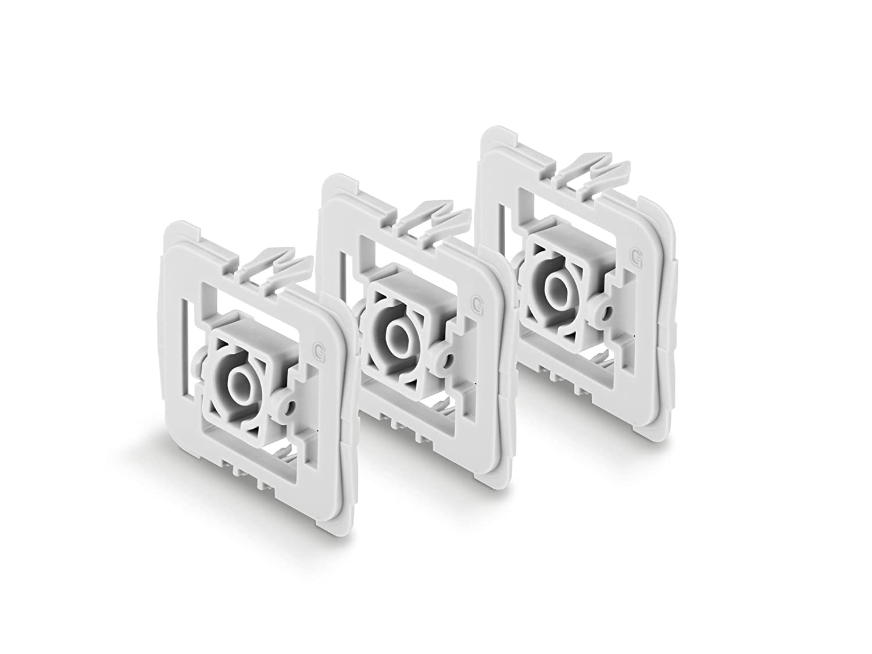 Bosch 8750000412/Smart Home 3tlg 0/W 0/V Interrupteur G encastr/é Set Adaptateur pour Gira 55/