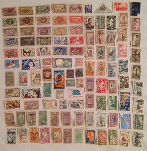 G16 LOT France French Colonies Stamps Polynesia Afrique Equatoriale Francaise +