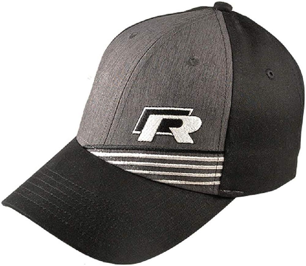 Volkswagen R Strip Cap Hat Gray