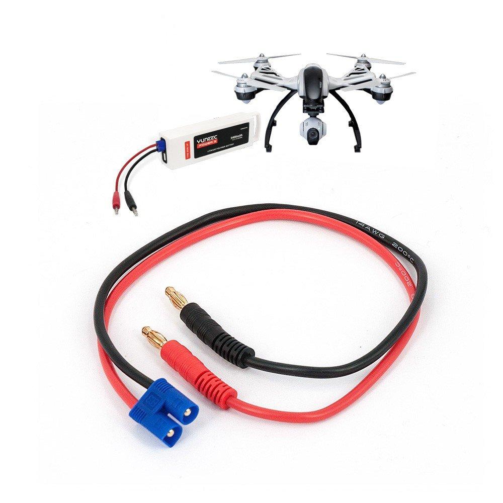 DS24 Yuneec 3S LiPo-Batterie Schnell-Ladekabel für universal LiPo Netzgeräte Zubehör Erweiterung