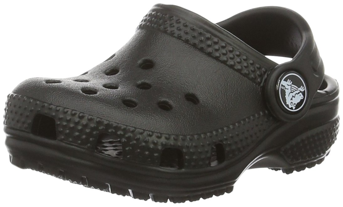 Crocs Kids' Classic Clog B01HEXGDZ6 6 M US Toddler|Black