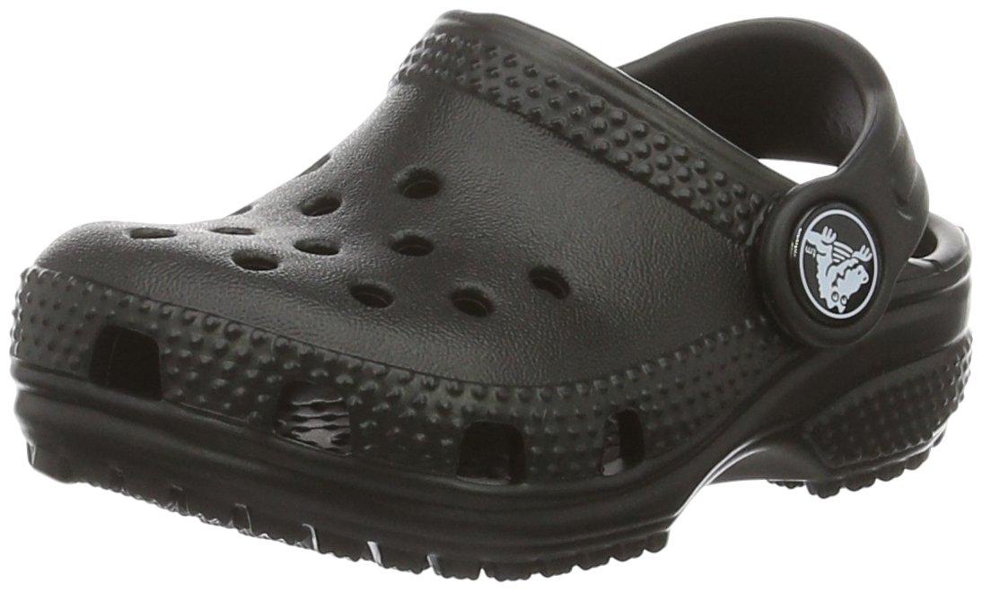Crocs Unisex Kid's Classic Clog|Water Shoe for Toddlers, Boys, Girls|Slip On Sandal, Black, 5 M US Big