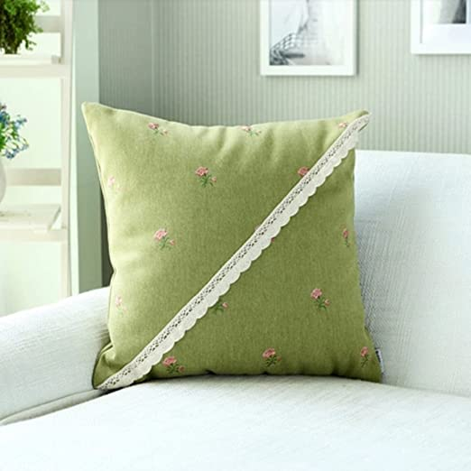 Almohadilla del bordado de la tela/ sofá cojín riñonera ...