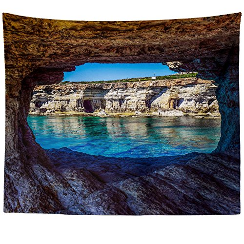 Greco Tapestry (Westlake Art Wall Hanging Tapestry - Cape Greco - Photography Home Decor Living Room - 68x80in (x8z-233-211))
