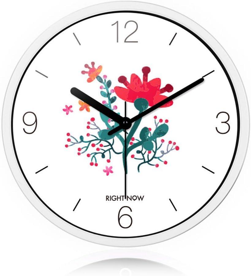 Didadi Wall Clock Living Room Ideas Wall Clock Hand Painted Watercolor Series Quartz Clock Clock Mute 30cm Amazon Co Uk Kitchen Home