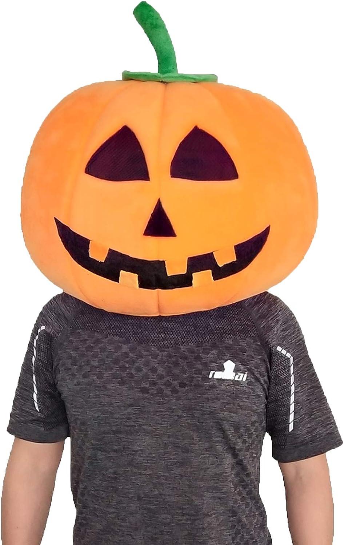 Halloween 2020 Pumpkin Head Amazon.com: Halloween Plush Pumpkin Head Mask Costumes Adult