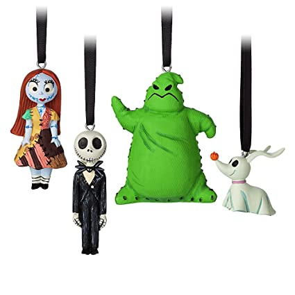 fd8572b72bab9 Image Unavailable. Image not available for. Color  Disney Tim Burton s The  Nightmare Before Christmas Sketchbook Mini Ornament Set