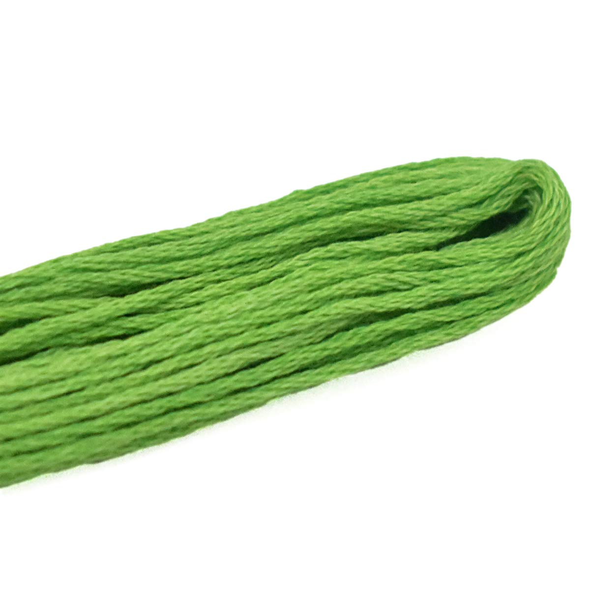 Embroidery Floss Knitting and Craft Making Pack of 10 Pieces,Shades of Green Color