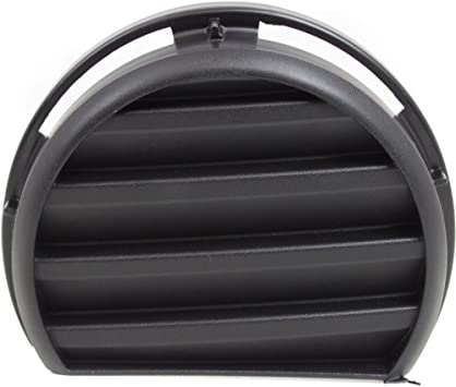 Front For Chevrolet HHR 06-11 Driver Side Fog Light Cover Textured Black