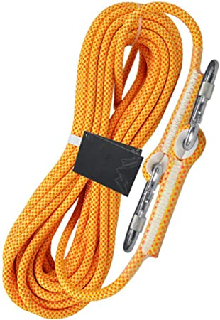HUYYA Cuerda de Escalada estática, 10.5mm Cuerda de Abreso ...