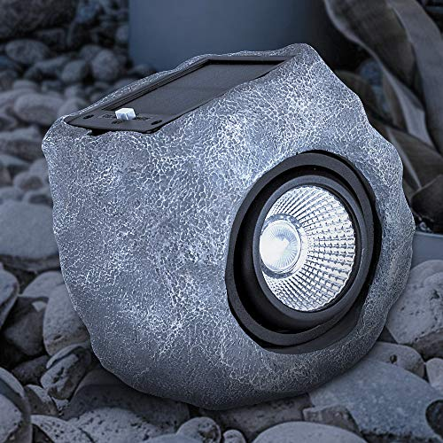 Rock Light, Outdoor Spotlight Waterproof Landscape Decor Patio Deck (Single-Head) ()