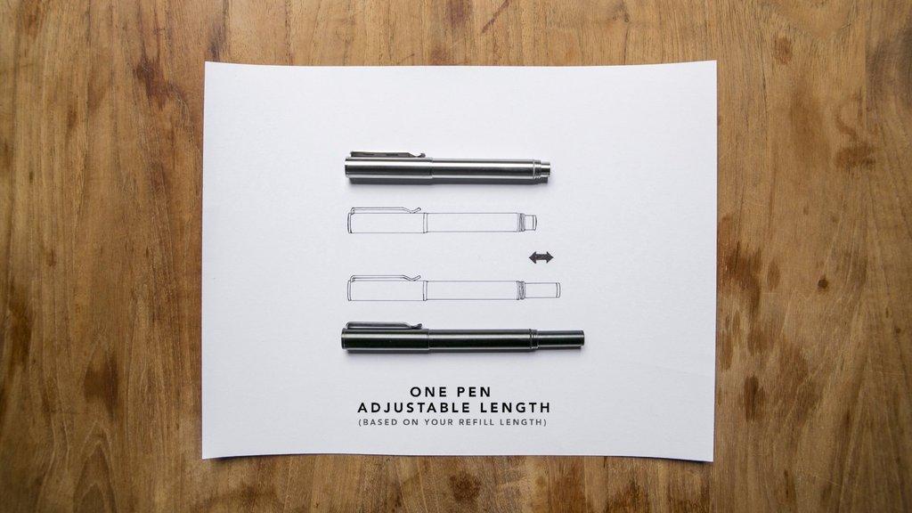 BIG IDEA DESIGN Ti Arto EDC : The Ultimate Refill Friendly Everyday Carry Pen (Stonewashed) by BIG IDEA DESIGN (Image #6)