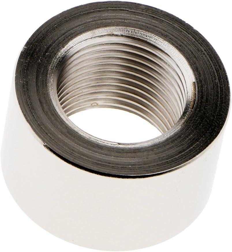 FLAMEER 2 St/ücke Edelstahl O2 Sauerstoffsensor Auspuffmutter M18 X 1,5mm