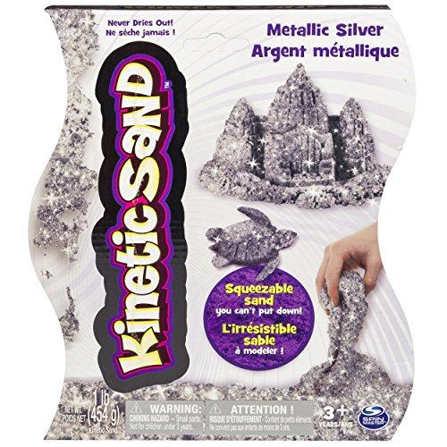 Kinetic Sand 1lb Metallic Silver product image