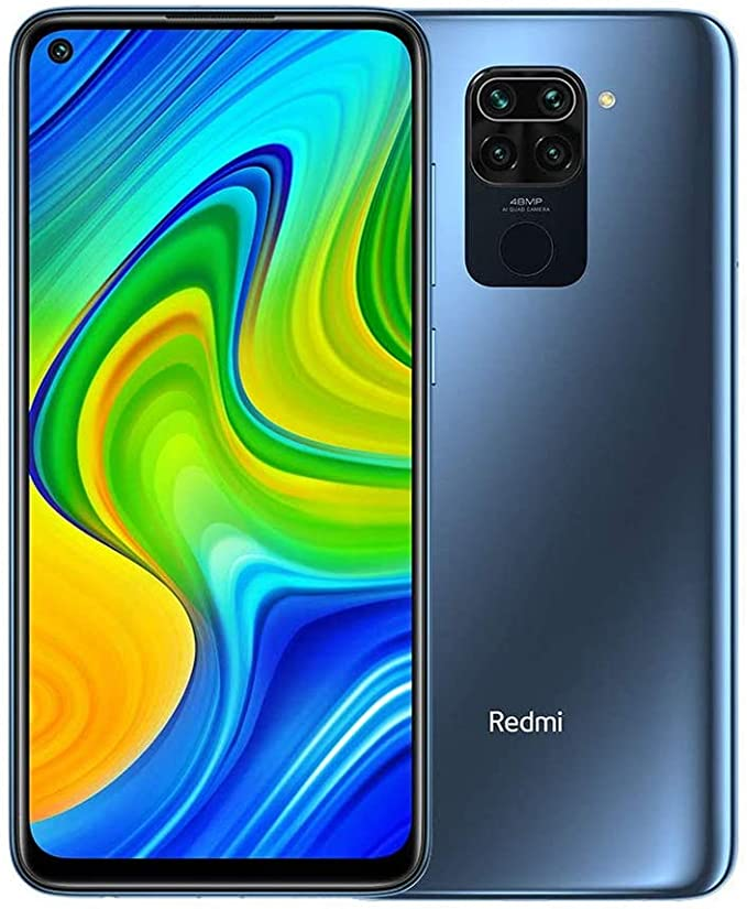Xiaomi Redmi Note 9 Smartphone Ram 4gb Rom 128gb 6 53 Fhd Dotdisplay 48mp Quad Kamera Hotshot 3 5mm Headphone Jack 5020 Mah Nfc Midnight Grey Elektronik