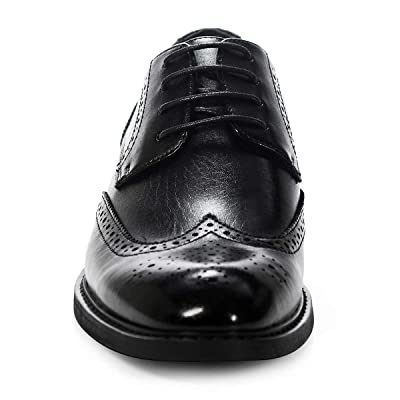 Details about  /Mens Work Oxfords Office Breathable Casual Low Top Faux Leather Business Shoes L