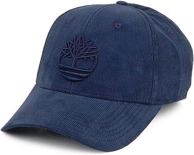 Timberland Gorra de béisbol Logo de Pana Azul Marino - Ajustable ...