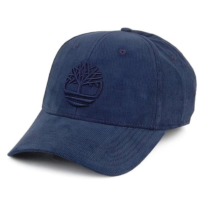 Timberland Gorra de béisbol Logo de Pana Azul Marino