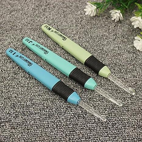 Lite Crochet Hooks Crochet Lite Hooks Set 3pcs Led Crochet Lite