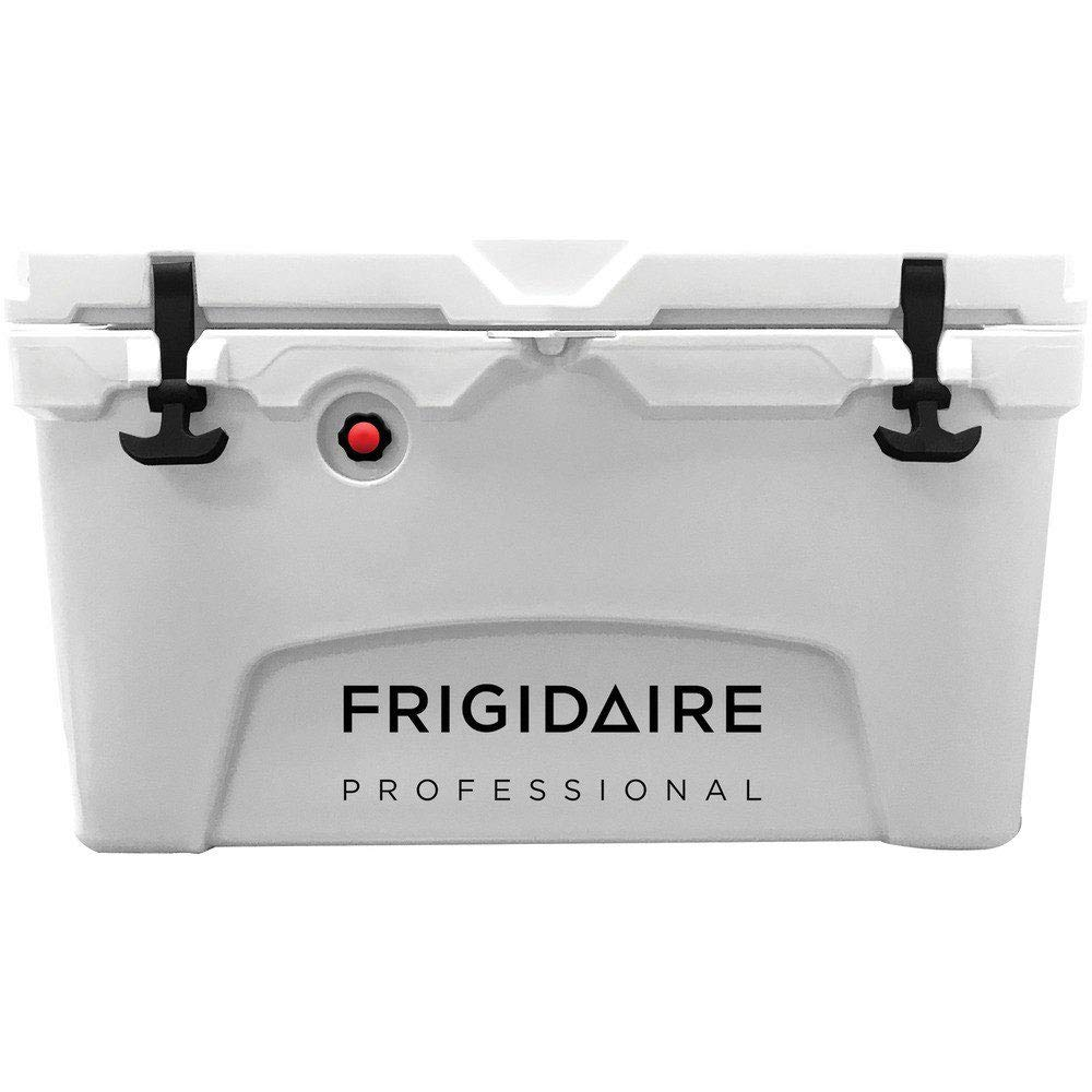Frigidaire Professional 45-Qt. Roto-Molded Hard Cooler, Polar White, FXHC4509-POLAR by Frigidaire