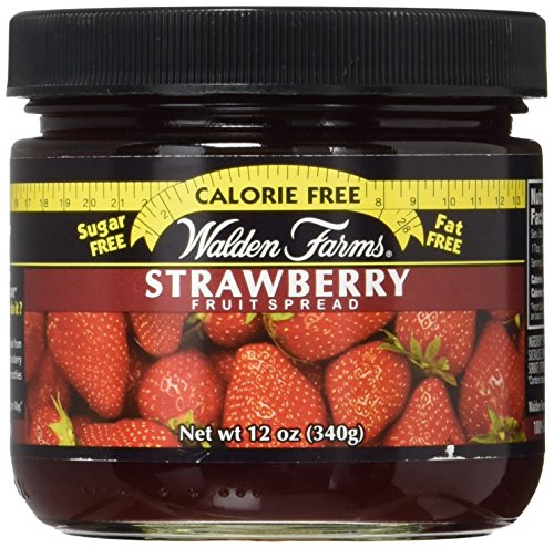 Walden Farms Calorie Free Fruit Spread, Strawberry Flavoured, 12 oz