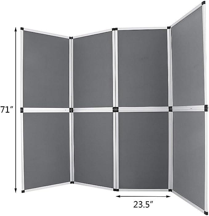 Guellin 61x91 cm Biombo 8 Paneles Biombo Plegable Separador de ...