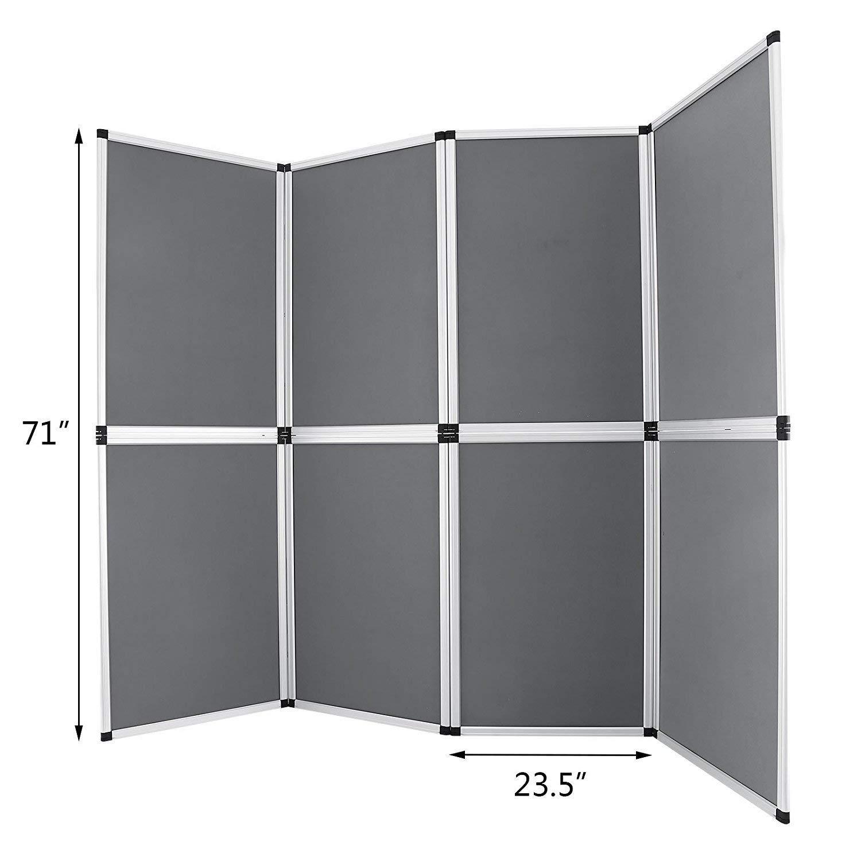 Guellin 61x91 cm Biombo 8 Paneles Biombo Plegable Separador de Espacios Pantalla Partición Interior para Separar Ambientes o Habitaciones: Amazon.es: Hogar