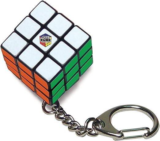 Amazon.com: Rubiks Key Ring Juego de acción, Paquete de 1 ...