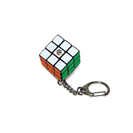 Rubiks Key Ring Action Game