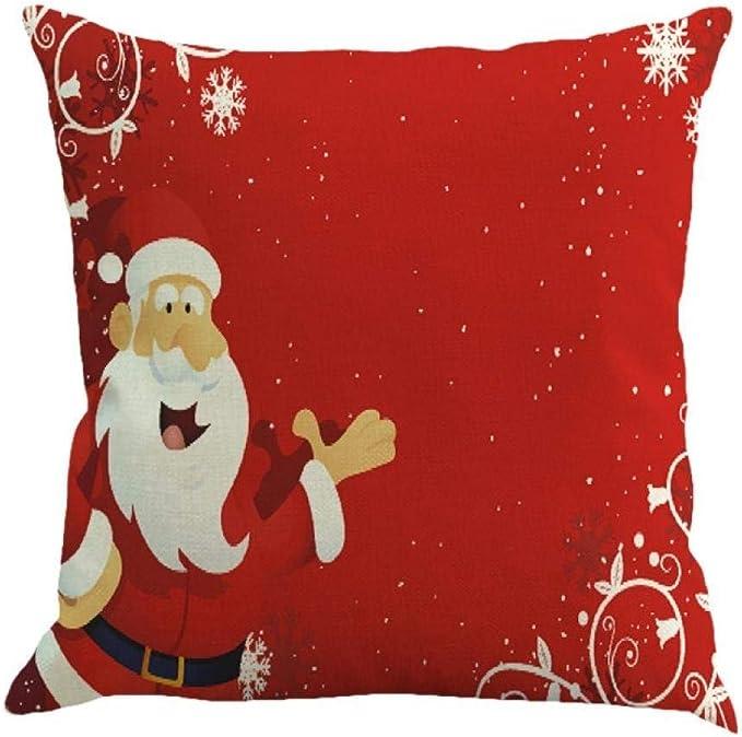 Federe Cuscini Natale.Federe Cuscini Fittingran Regali Di Natale Belle Fodere Di Lino