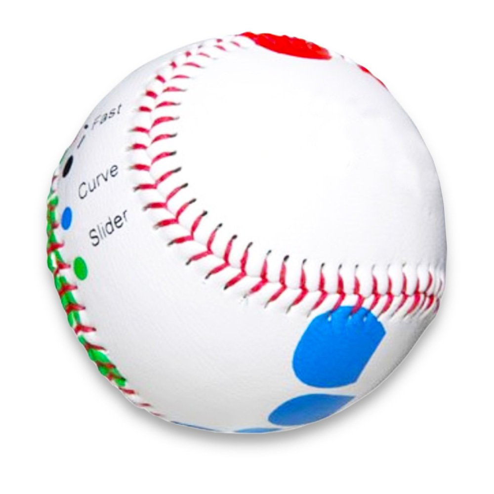 Pitch Training Baseball with Detailed Grip Instructions