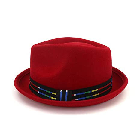 Men Packable Trilby Hat Waterproof Leather Fedoras Hat Classic Jazz Cap