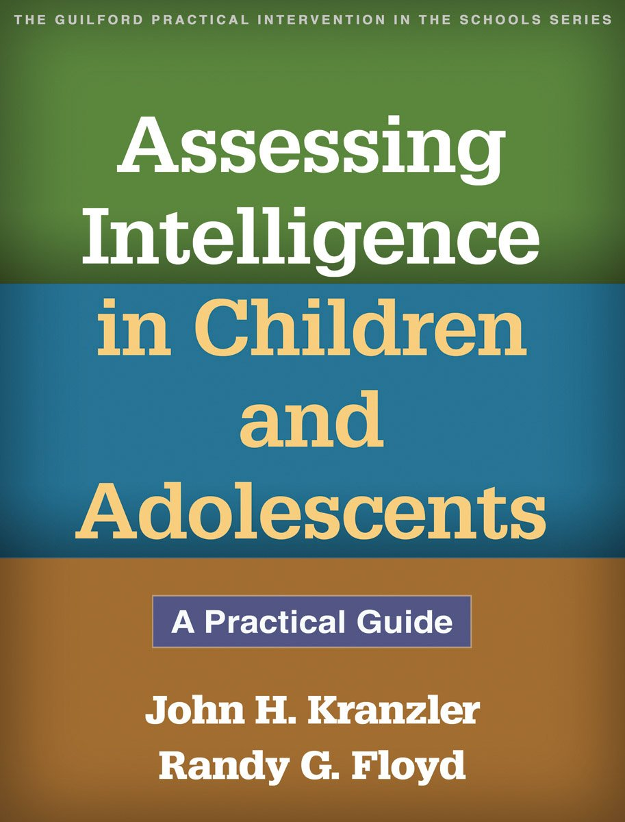 Download Assessing Intelligence in Children and Adolescents: A Practical Guide ebook