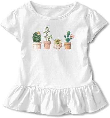 Cactus Girls - Camiseta de manga corta clásica, color negro ...