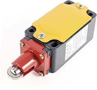 uxcell LXK3-20S/L Parallel Roller Plunger Metal Limit Switch 0.8A/380VAC 0.15A/220VDC