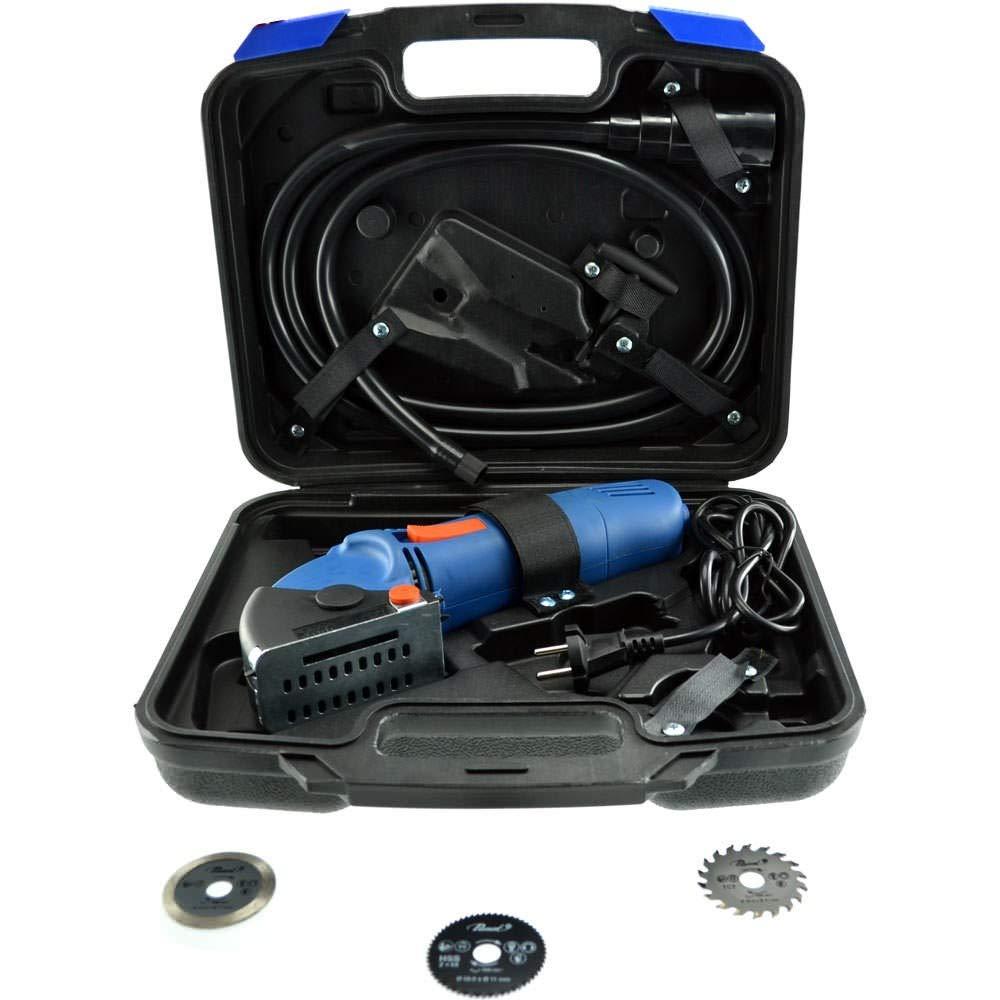 50 mm Set de 8 lames de scie en mallette pour mini scie circulaire Passat Passat MINISCIE01SET Diam/ètre
