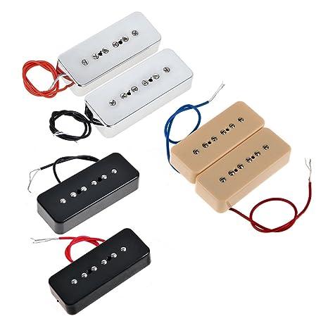 Amazoncom Kmise Ot2287 Electric Guitar Pickup P90 Soapbar Pickup