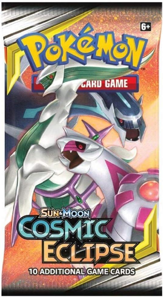 Pokémon 171-81589 Sol y Luna 12: Eclipse cósmico-Paquete de refuerzo, 1 sobre con 10 cartas: Amazon.es: Juguetes y juegos