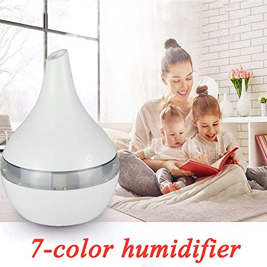 NEW  LED Ultrasonic Aroma Humidifier Air Aromatherapy Essential Oil Diffuser