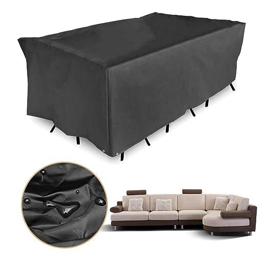 SONSAN 308x138x89 cm Impermeables al Aire Libre Muebles de jardín ...