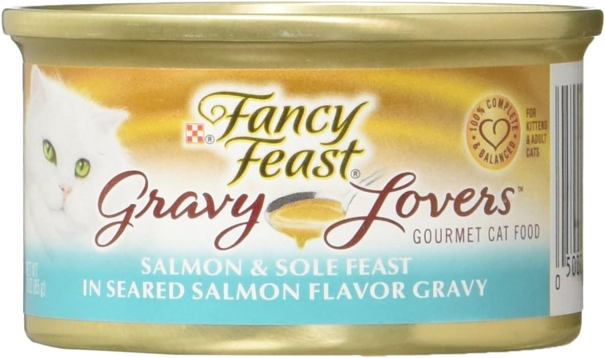 Fancy Feast Gravy Lovers Cat Food 3 OZ (Pack of 24)