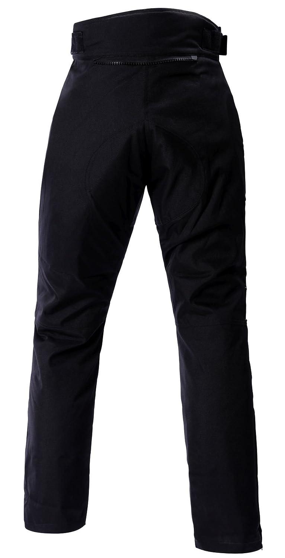 Ledershop-online Bangla 1711 Damen Motorradhose Tourenhose Textil Cordura 600 Schwarz Rot S