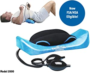 POSTURE PUMP Relief for Low Back Pain Elliptical Back Rocker™ DISC HYDRATOR (Model 2000)