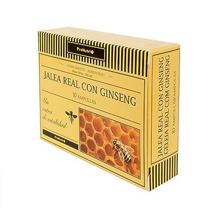 ProNutri Jalea Real con Ginseng - 2 Paquetes de 10 Unidades