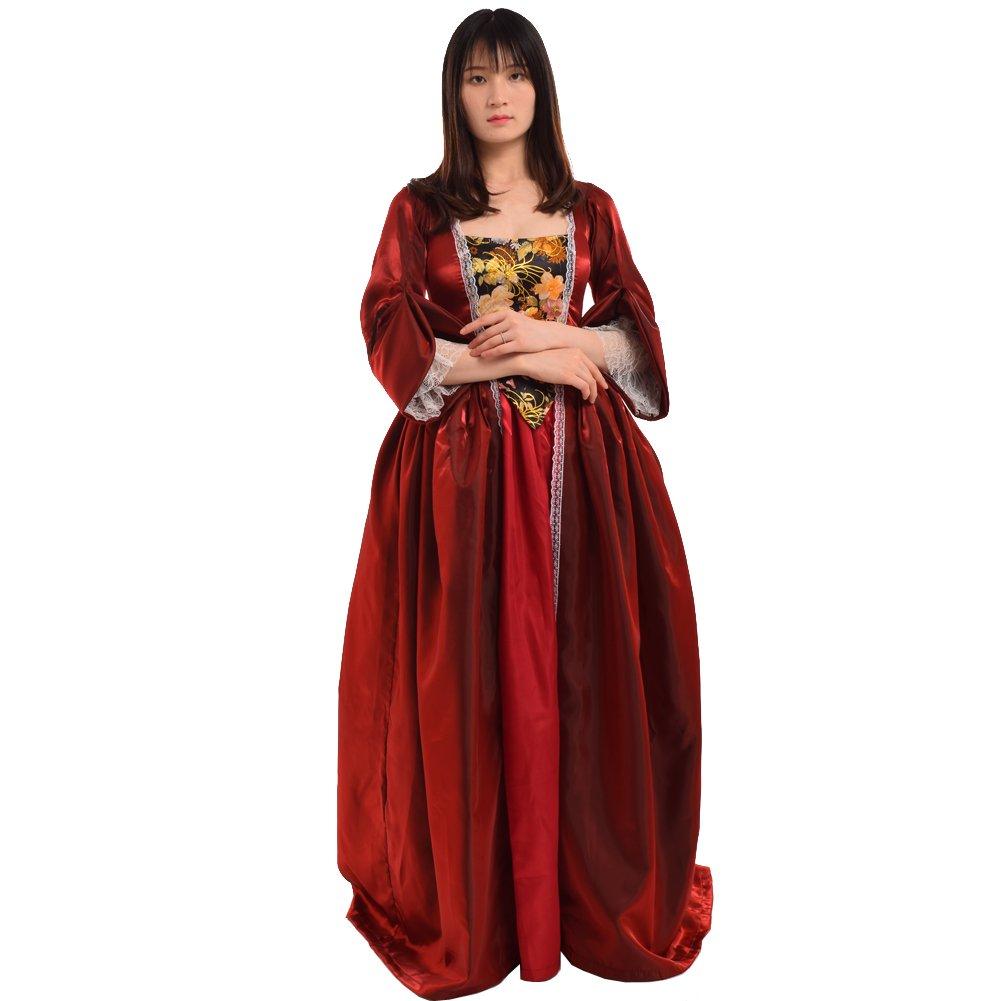 BLESSUME Vintage viktorianischen Barock Kleid vermisst kolonialen Rokoko Jahrhundert Mittelalterliche Frauen Kostüm Kleid B01MQGIZVX Kostüme für Erwachsene Angemessene Lieferung und pünktliche Lieferung | Roman