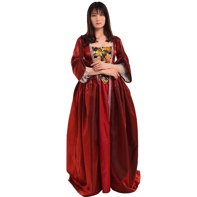 BLESSUME Vendimia Victoriano Barroco Vestido Misses Colonial ...